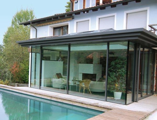 anbauten diefenthaler visionen aus glas. Black Bedroom Furniture Sets. Home Design Ideas